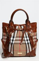 Burberry 'House Check' Tote