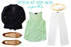 Style At Any Age: Muted Neon Tank in your 40s | Taim Boutique