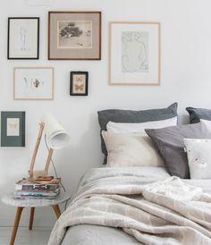 Cama sem cabeceira? Sim, com um pouco de criatividade é possível criar composições bacanas e deixar o seu quarto incrível