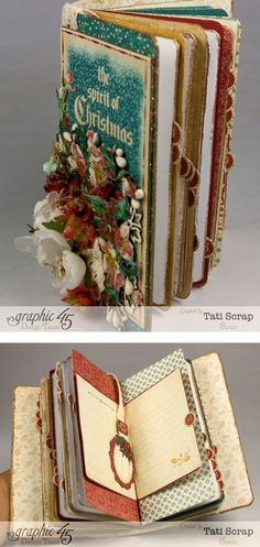 Tati, December Daily Mini Album, Graphic 45 A Christmas Carol