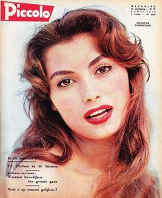 Rosanna Schiaffino - Piccolo Magazine Cover [Belgium] (5 July 1959)