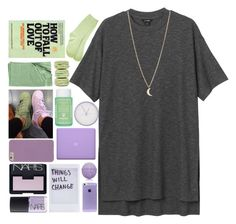 """""""Streets not safe but I never run away // THANK YOU FOR 900 *•."""" by moon-sun-of-usa ❤ liked on Polyvore featuring Monki, NARS Cosmetics, Advanced Body Care by ME Bath, Sisley Paris, DecoMates, Nordstrom, Ladurée, She's So and Minor Obsessions"""