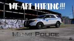 Miami Police Recruitment Video Police Recruitment, Hiring Process, We Are Hiring, Bullying, Miami, Bullying Activities, Persecution