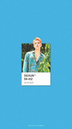 Wallpapers Kpop, Kpop Backgrounds, K Wallpaper, Pastel Wallpaper, K Pop, Chanyeol Baekhyun, Exo Exo, Groups Poster, Ko Ko Bop