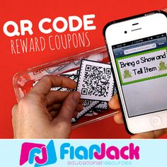 Technology Theme  -  QR Code Reward Behavior Coupons FREEBIE - Are you looking for a fresh way to motivate your students to do their best for the remainder of the year? Well, have you tried QR code coupons? You should! They come in English and Spanish.