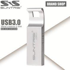 Suntrsi Pendrive 64GB USB 3.0 High Speed USB Flash Drive Real Capacity Pen Drive 64GB/32GB/16GB USB Stick Flash Drive USB