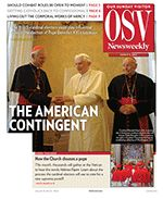 Papal transition, how the Church chooses a pope, works of mercy during Lent & more in the March 3 issue
