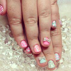 nail art for short nails done by yuki hearts salon in nyc #nail #nailart