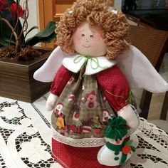 44 Ideas Sewing Projects Christmas Stocking For 2019 Christmas Angel Crafts, Christmas Sewing Projects, Christmas Room, Sewing Projects For Beginners, Christmas Stockings, Christmas Decorations, Christmas Ornaments, Diy Crafts New, Sewing Crafts