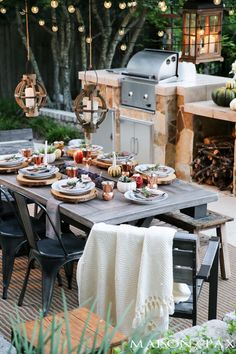 outdoor fall tablesc