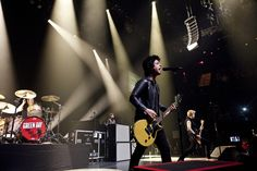 Green Day performing at the Moody Theater during SXSW 2013.