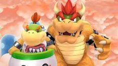 Bowser and Bowser Jr.- Super Smash Bros. for Wii U