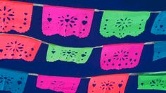 how to make papel picado template and pattern