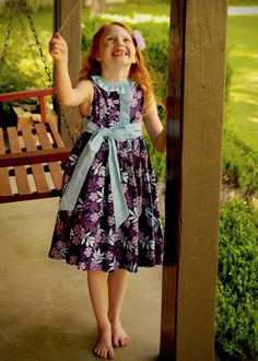 Miss Matilda Dress and Top Pattern: Testers - The Cottage Mama