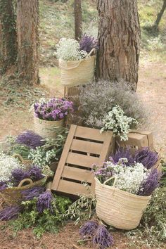 Decoration for your wedding venue Rustic Wedding, Our Wedding, Wedding Venues, Purple Wedding, Wedding Flowers, Lavender Cottage, Lavender Fields, Dried Flowers, Garden Wedding