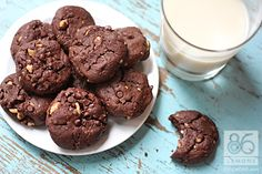 Double Chocolate Chippers (Vegan, low-sugar)