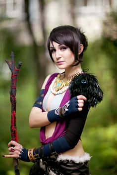 Cosplay morrigan dragon nude age