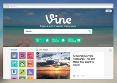 Vine Launches A Six-Second YouTube - LBSZone