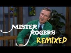 Did you love the Mister Rogers musical remix? I did and I never ever saw the show, beacause, Finland. If you loved that song, check out more from Melodysheep, from here http://youtube.com/user/melodysheep  -marja