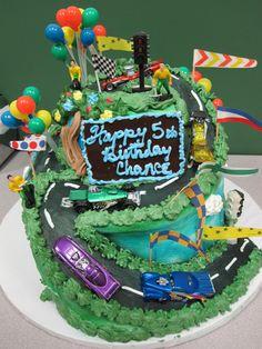 Race Car Birthday Cake