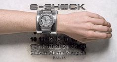 Maison Matin Margiela watch G-shock