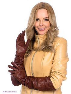 Brown leather gloves and yellow leather jacket Gloves Fashion, Fashion Boots, Brown Leather Gloves, Yellow Leather, Leather Jacket, Elegant Gloves, Long Gloves, Leather Accessories, Leather Fashion