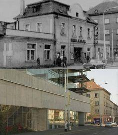 Kino Vesna V Olšinách.  Zdroj: https://picasaweb.google.com/116528770511783370129/StrasniceVceraADnes