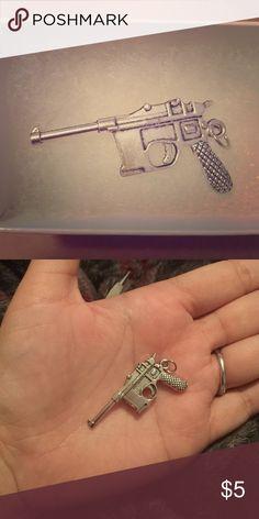 Gun charm Large gun charm. Jewelry