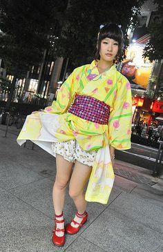 Japanese street fashion victim
