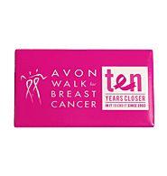 Avon Walk 10th Birthday Fridge Magnet
