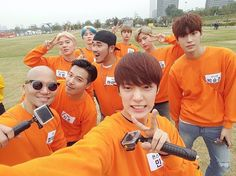 "VIXX, MONSTA X, KNK, MADTOWN, And More Take Part In Race For Upcoming Epic ""Running Man"" Episode"
