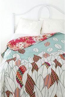 Lush fresh bedding