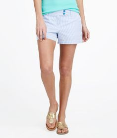 Womens Shorts: Buy Seersucker shorts for women | Vineyard Vines