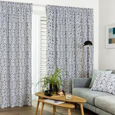 Jasper Steel - Readymade Thermal Pencil Pleat Curtain - Curtain Studio buy curtains online