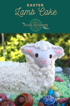 A sturdy pound cake baked in a lamb shaped mold, a delicious centerpiece for Easter Polish Desserts, Polish Recipes, Lamb Cake, Polish Easter, Thin Pancakes, Easter Lamb, Easter Traditions, Pound Cake Recipes, Easter Celebration
