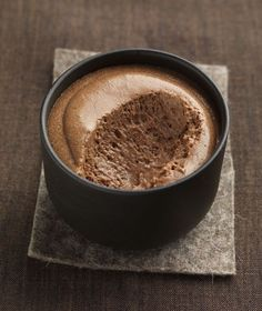 Mousse au chocolat caramel beurre salé
