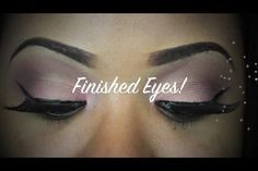 Nitraabs eye look   Check her out on YouTube (nitraab) Fun flirty valentines day makeup <3