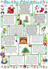 Christmas Quiz worksheet - Free ESL printable worksheets made by teachers