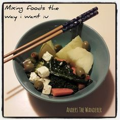 Anders The Wanderer: Mixing foods...