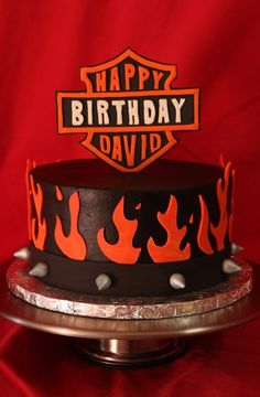 Harley Bday cake
