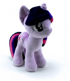 Calling all Bronys: missed out at BronyCon?  Gann Memorials creates the highly collectible luxury My Little Pony plush available from 4th Dimension Entertainment.