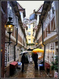 Hamburg, Germany...old hansa city