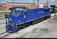 RailPictures.Net Photo: NS 8103 Norfolk Southern GE ES44AC at Altoona, Pennsylvania by Norfolk Southern Corp
