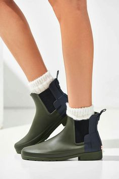 Shop Hunter Original Refined Chelsea Rain Boot at Urban Outfitters today.  We carry all the latest styles, colors and brands for you to choose from  right ...