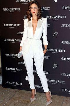 Image result for white tuxedo for women