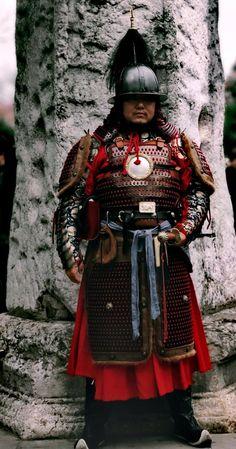 Ancient Armor, Medieval Armor, Tibet, Lamellar Armor, Chinese Armor, Chinese Element, Armor Clothing, Chinese Mythology, Dynasty Warriors