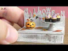 (18) DIY Miniature Halloween Cake Pops & Cupcakes | Petit Palm - YouTube