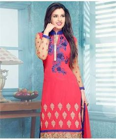 Georgette Suit with Dupatta and Lining   I found an amazing deal at fashionandyou.com and I bet you'll love it too. Check it out!