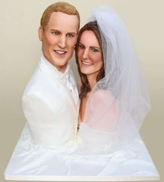 The Michelle Wibowo Wedding Cake for Prince William and Kate Middleton #weddingcake trendhunter.com