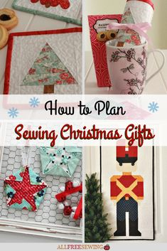 whether you are making christmas sewing projects to sell or give as gifts to loved ones
